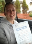 Katherine Firth passed with Clearway Driving School