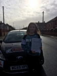 Kayla Riley passed with Clearway Driving School