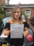 Kelly Parker passed with Clearway Driving School
