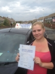 Kerry Dolman passed with Clearway Driving School