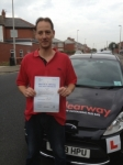 Kevin Turner passed with Clearway Driving School