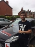 Kieran Boyce passed with Clearway Driving School
