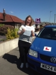 Kim Burge passed with Clearway Driving School