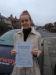 Lauren Alston passed with Clearway Driving School