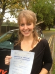 Lauren Kelly passed with Clearway Driving School