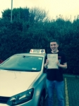 Lewis Baker WIlliams passed with Clearway Driving School