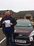 Lewis Jones passed with Clearway Driving School