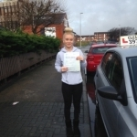 Libby Robinson passed with Clearway Driving School