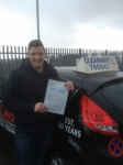 Martin Catterall passed with Clearway Driving School