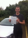 Matt Garrod passed with Clearway Driving School