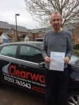 Michael Young passed with Clearway Driving School
