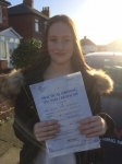 Millie Threlfall passed with Clearway Driving School