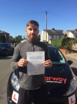 Mitchell White passed with Clearway Driving School