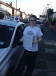 Monica Brownwood passed with Clearway Driving School