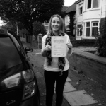 Natalie Welton passed with Clearway Driving School