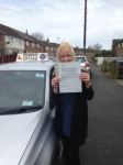 Niki Ford passed with Clearway Driving School