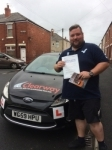 Patrick Larkin passed with Clearway Driving School
