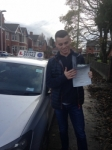 Patrick Lonsdale passed with Clearway Driving School