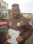 Ray Ababa passed with Clearway Driving School