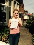 Rebecca Angel passed with Clearway Driving School