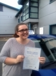 Rebecca passed with Clearway Driving School