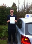 Sam Bennett passed with Clearway Driving School