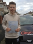 Sam Worsdale passed with Clearway Driving School