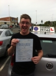 Shane Bishop passed with Clearway Driving School
