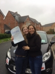 Shayla Kirkham passed with Clearway Driving School