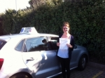 Steph Edmondson passed with Clearway Driving School