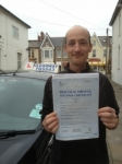 Stuart Brooke passed with Clearway Driving School