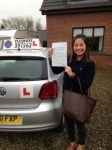 Tay La passed with Clearway Driving School