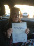 Tianni Rogers passed with Clearway Driving School