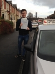 Tim Fallow passed with Clearway Driving School