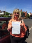 Tina Hibbert passed with Clearway Driving School
