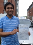 Wahib Quasem passed with Clearway Driving School