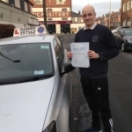 Wayne Lochrane passed with Clearway Driving School