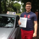 Will Allen passed with Clearway Driving School