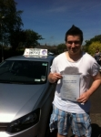 Zac Reid passed with Clearway Driving School