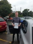 Zach Cross passed with Clearway Driving School