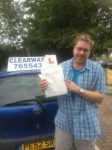 Ian Heckler passed with Clearway Driving School