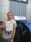 Daniel Bennett passed with Clearway Driving School