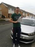 Josh Connolly passed with Clearway Driving School