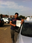 Mo Sheikh passed with Clearway Driving School
