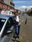 Samaiya Adam passed with Clearway Driving School