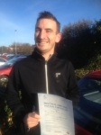 Thomas D passed with Clearway Driving School