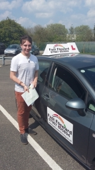 well done Alex a great 1st time passBe Safe