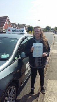 well done excellent 1st time pass be safe