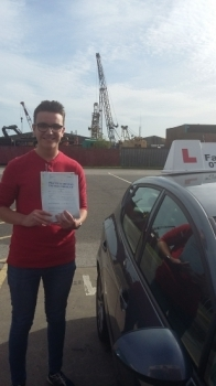great effort on passing your test be safe
