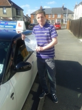 Well done Ben on passing your test all the hard work paid off all the best for the future